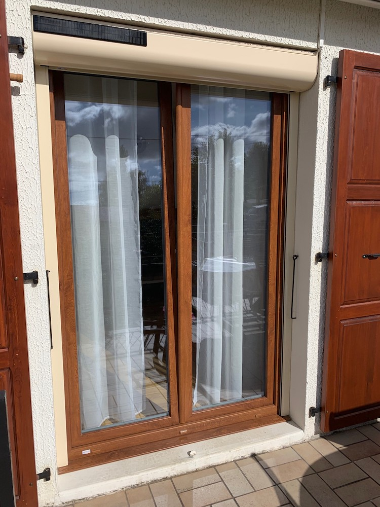 Fenêtre en PVC Couleur Winchester