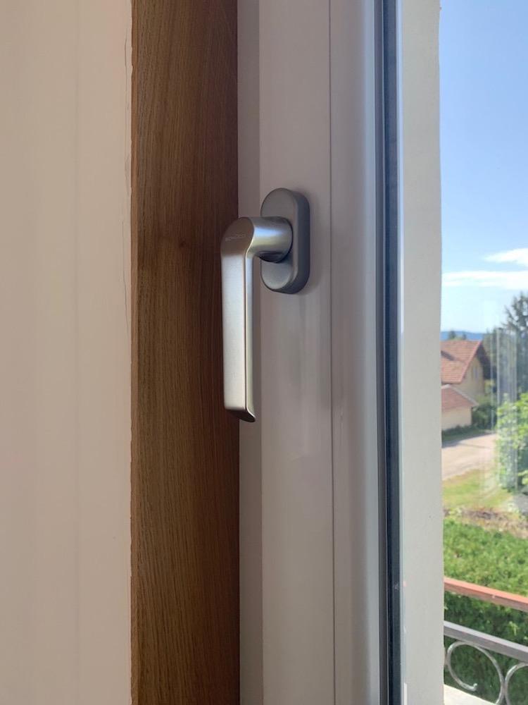 Fenêtre en PVC Blanc AC Ferm